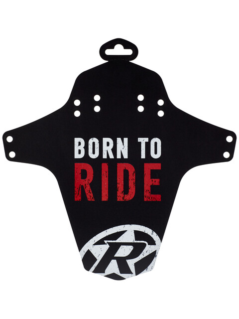 Reverse Born to Ride Mudguard red/black